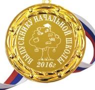 Медаль для выпускника начальной школы 2018г