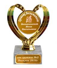 Кубок - лучшему воспитателю именной