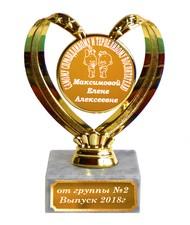 Кубок - Самому справедливому и терпеливому воспитателю - Именной