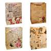 Пакет подарочный - Газета (микс) - 26*32*10