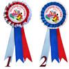 Значок-розетка - первоклассник 2021 - АБВ